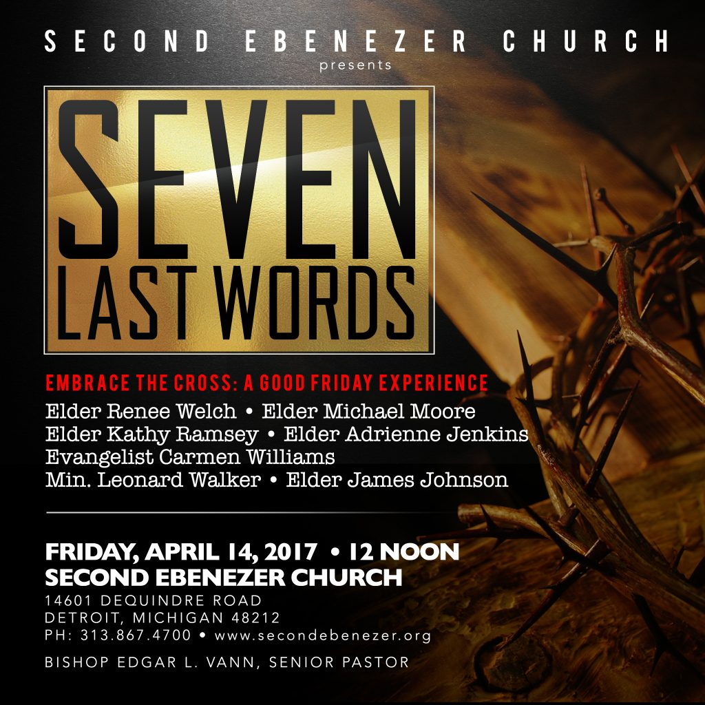 7 Last Words Good Friday Service