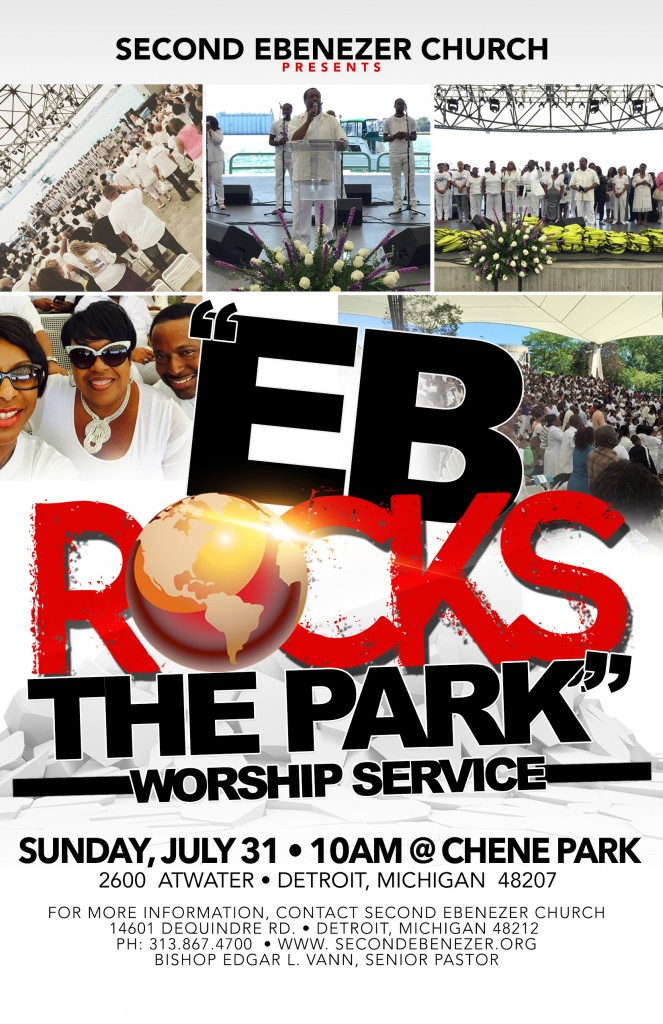 Eb Rocks the Park @ Chene Park | Detroit | Michigan | United States