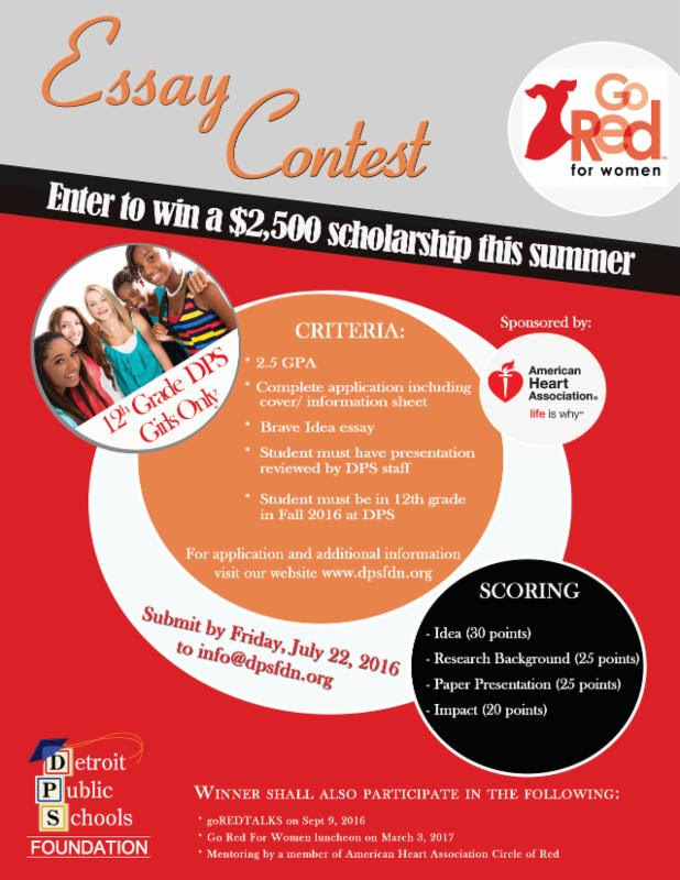 Go Red Scholarship 2016