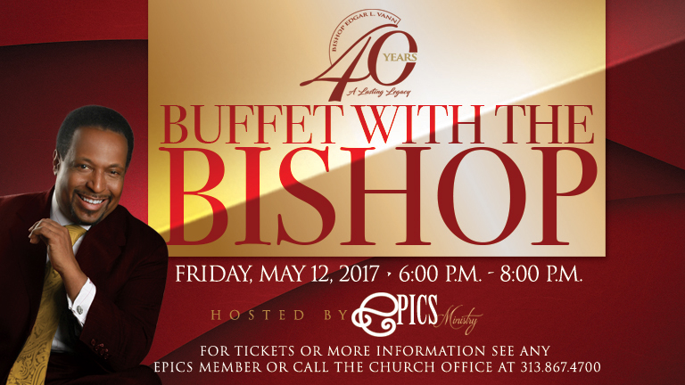 Buffet With The Bishop