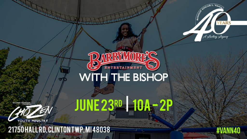 Barrymore's With The Bishop @ CJ Barrymore's Family Entertainment Center | Charter Township of Clinton | Michigan | United States