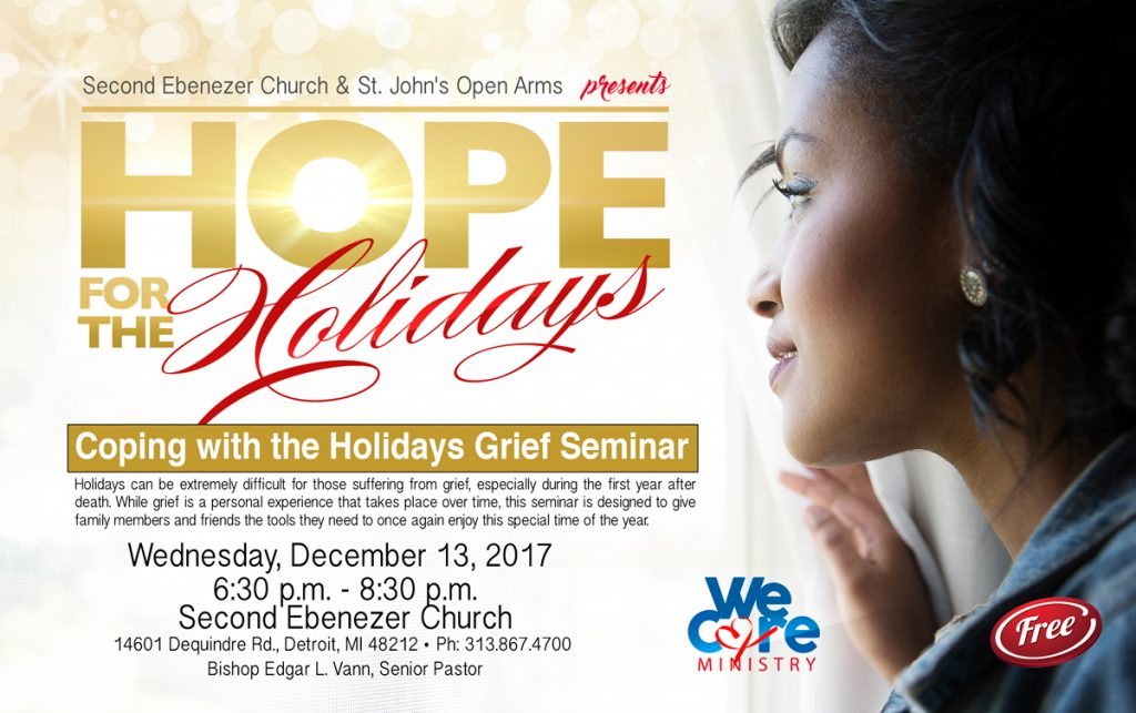 Coping With The Holidays Grief Seminar Second Ebenezer Church