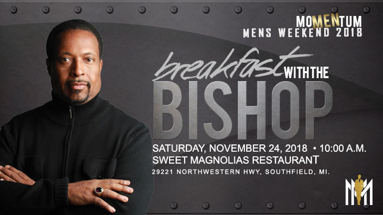 Breakfast With The Bishop @ Sweet Magnolias | Southfield | Michigan | United States