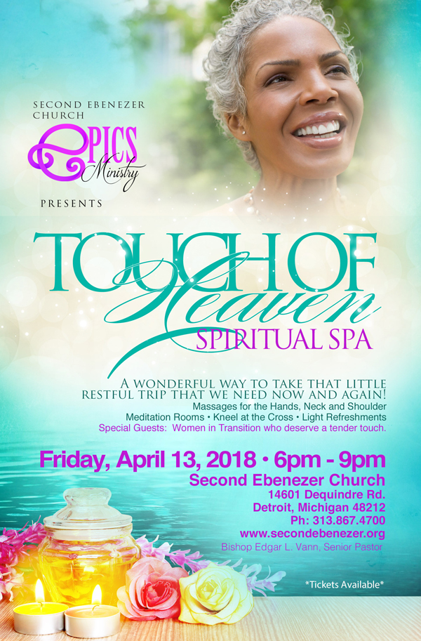 Touch of heaven spiritual spa second ebenezer church for A touch of heaven salon