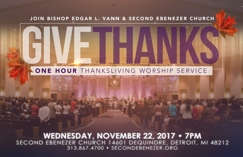 Thanksliving Worship Service