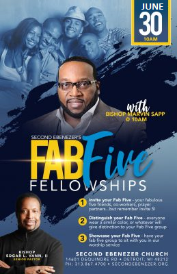 FAB FIVE SERVICE JUNE 30th