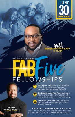 FAB FIVE W/ MARVIN SAPP @ SECOND EBENEZER